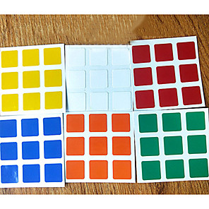 cheap Magic Cubes-6pcs Durable Stickers Set for 3x3x3 Magic Cube