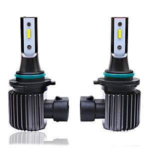 cheap Car Headlights-2pcs H7 55W Led Fog Lights Bulb 1860 CSP Chips S400 6500K White Car Driving Running Lamp Auto Leds Light 12V