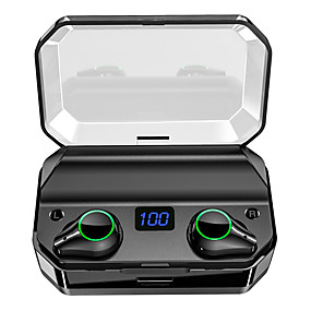 cheap TWS True Wireless Headphones-LITBest T9 TWS True Wireless Earbuds 7000mAh Power Bank Travel Entertainment Bluetooth 5.0 Noise-Cancelling with Micro USB Type C Out Put