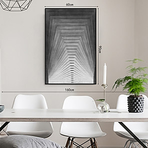 cheap Framed Arts-Framed Art Print Framed Set - Abstract PS Illustration Wall Art