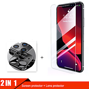 cheap iPhone Screen Protectors-2lin1 Camera Glass For iphone 11 pro max Screen Protector Lens Glass for iphone 11 11Pro protective Glass