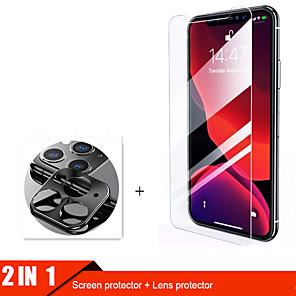 cheap iPhone Screen Protectors-2lin1 Camera Glass For iphone 11 pro max Screen Protector Lens Glass for iphone 11 11Pro protective Glass