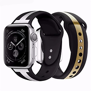 cheap Smartwatch Bands-Watch Band for Apple Watch Series Apple Sport Band Silicone Wrist Strap