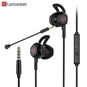 cheap Gaming Headsets-Langsdom G100X PC Gaming Headset Stereo Noise Cancelling Earphone PUBG DOTA Gamer Headphone With Microphone Volume Control For Phone Xbox Gamer PS4