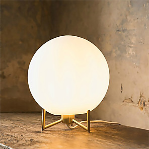 cheap Table Lamps-Table Lamp / Reading Light Ambient Lamps / Lovely Artistic / Modern Contemporary / Nordic Style For Study Room / Office / Office Metal 220V / 110V Gold