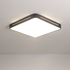 cheap Dimmable Ceiling Lights-1-Light 40/50 cm Flush Mount Lights Metal Novelty Painted Finishes LED Modern 110-120V 220-240V