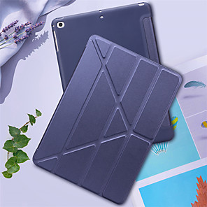 cheap iPad case-Silicone Soft PU Leather Smart Cover Case for iPad Air / Air 2 / 9.7 (2017) / (2018)