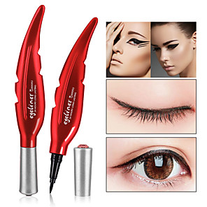 cheap Eyeliner-Quick drying Black Eyeliner Waterproof Liquid Eye Liner Pencil Pen Make Up Beauty Cosmetics