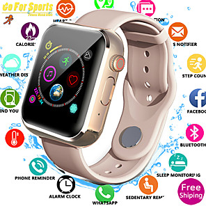cheap Smartwatches-Women's Sport Watch Casual Fashion Black White Pink Silicone Digital Black White Blushing Pink Water Resistant / Waterproof Bluetooth Smart 30 m 1 set Digital