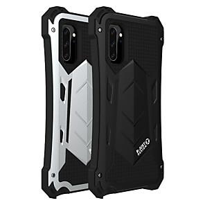cheap Samsung Case-Case For Samsung Galaxy Galaxy S10 / Galaxy S10 Plus / Galaxy S10 5G Shockproof / Dustproof / Water Resistant Back Cover Armor Silica Gel / Aluminium