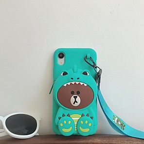cheap iPhone Cases-Case For Apple iPhone 11 / iPhone 11 Pro / iPhone 11 Pro Max Pattern Back Cover Animal / Cartoon TPU