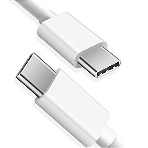 cheap Cell Phone Cables-USB Type C Cable To USB C Cable For Samsung S10 Xiaomi Mobile Phone USBC PD Fast Charging Charger Cord USB-C Type-C Cable