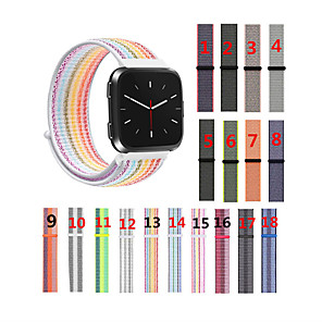 cheap Smartwatch Bands-For Fitbit Versa/Versa Lite/Versa SE/Versa 2 Woven Nylon Loop Sport Watch Replacement Band Bracelet Strap