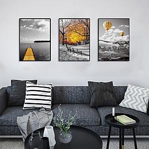 cheap Framed Arts-Framed Art Print Framed Set - Landscape Scenic PS Photo Wall Art