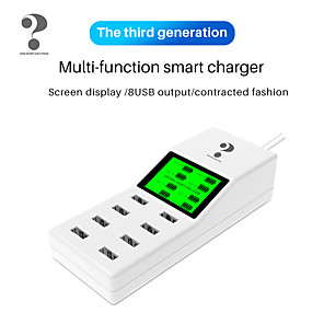 cheap Smart Plug-Nillkin Smart Plug YC-CDA31W for Living Room / Study / Bedroom Smart / Creative / Wireless Charging Wired USB 100-240 V