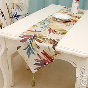 cheap Artificial Plants-Classic polyester fibre Cube Table Runner Table Decorations