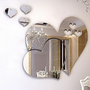 cheap Wall Stickers-Abstract Wall Decor Plastics 3D Print Wall Art, Wall Hangings Decoration