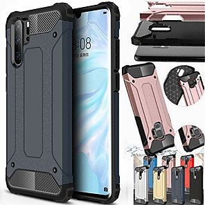 cheap Huawei Case-Shockproof Rugged Hybrid Armor Phone Case for Huawei P30 P30 Lite P30 Pro P20 P20 Lite P20 Pro