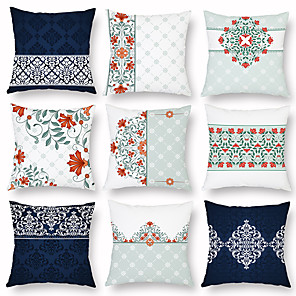 cheap Pillow Covers-1 pcs Others Pillow Cover, Printing Contemporary Classic Vintage Throw Pillow