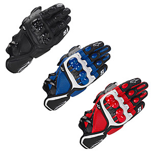 cheap Motorcycle Helmet Headsets-Motorcycle Gloves - Hard Knuckle Gloves with Antiskid Grip - Men/Women Leather Motorcycle Gloves Breathable
