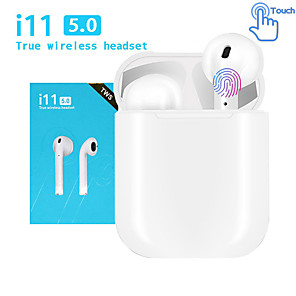 cheap TWS True Wireless Headphones-LITBest i11 TWS True Wireless Earbuds Wireless Earbud Bluetooth 5.0 with Microphone with Charging Box