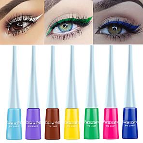 cheap Eyeliner-CmaaDu 12 Color Matte Eyeliner Waterproof Long Lasting Eye Shadow Liquid No Dizzy Dye Eye Makeup
