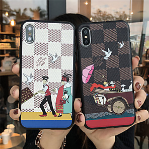 cheap iPhone Cases-Case For Apple iPhone 11 / iPhone 11 Pro / iPhone 11 Pro Max Frosted / Embossed / Pattern Back Cover Cartoon TPU