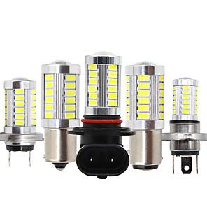 cheap Car Headlights-2PCS Car H8 H11 led 9005 hb3 9006 hb4 h4 h7 p13w H16 5630 33SMD Fog Lamp Daytime Running Light Bulb Turning Parking Bulb 12V