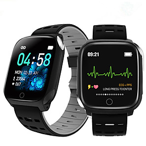 cheap Smartwatches-F16 smart bracelet ECG band heart rate blood pressure blood oxygen sleep monitoring fitness tracker waterproof Smart Watch