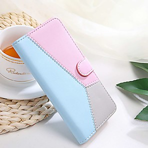 cheap Other Phone Case-Case For Sony Xperia L3 / Sony Xperia XZ3 / Sony Xperia XA2 Wallet / Card Holder / with Stand Solid Colored PU Leather / TPU for Sony Xperia XA1 / Xperia L1