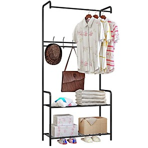 cheap Framed Arts-Wire Shelving Unit Metal Storage Rack Durable Organizer Perfect for Pantry Closet Kitchen Laundry Organization
