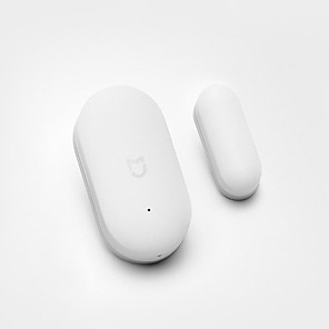 cheap Security Sensors & Alarms-Xiaomi Door Sensor Window Sensor Intelligent Home Suite Household Window Alarm Multi Function Mijia Mi Home App Wireless Connection Smart Home Security Kits Zigbee Motion Sensor
