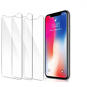 cheap TWS True Wireless Headphones-3PCS Screenprotector Tempered Glass for IPhone 11 Pro X XR XS Max  Screen Protector Film Phone