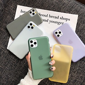 cheap iPhone Cases-Case For Apple iPhone 11 / iPhone 11 Pro / iPhone 11 Pro Max Frosted Back Cover Tile TPU