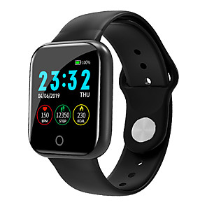 cheap Smartwatches-Smartwatch Digital Modern Style Sporty Silicone 30 m Water Resistant / Waterproof Heart Rate Monitor Bluetooth Digital Casual Outdoor - Black White Pink
