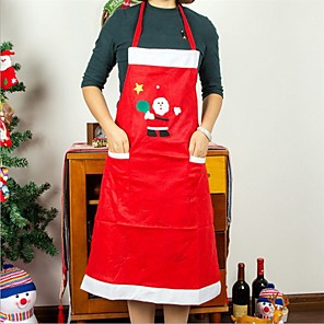 cheap Christmas Decorations-Both Men And Women Apron Household Hotel Restaurant Waiter Clothing Christmas Decorations