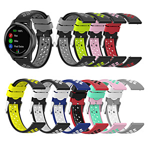 cheap Smartwatch Bands-Breathable Silicone Replacement Watch Band For For Garmin vivoactive 4