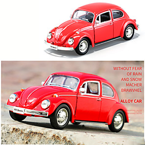 cheap Toy Cars-Pull Back Vehicle Farm Vehicle Car Beetle Unisex Boys' Toy Gift