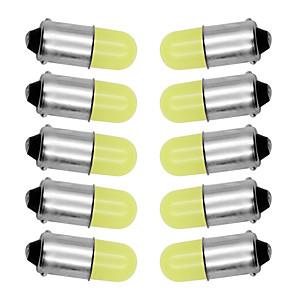 povoljno Auto unutrašnja svjetla-10pcs ba9s t4w 363 1895 233 super svijetla okrugla 3d kugla vodila čisto bijela automobilska registarska tablica žarulja auto lampica marker svjetlo dc 12v