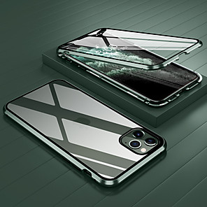 cheap iPhone Cases-Case For Apple iPhone 11 / iPhone 11 Pro / iPhone 11 Pro Max Shockproof / Transparent Full Body Cases Transparent Tempered Glass