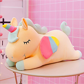 cheap Stuffed Animals-Plush Dolls Stuffed Animal Plush Toy Unicorn Animals Adorable Cotton / Polyester Imaginative Play, Stocking, Great Birthday Gifts Party Favor Supplies Boys and Girls Adults Kids Baby & Toddler