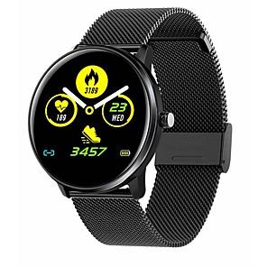 cheap Smartwatches-MX6 Smart Watch Men Women Full Screen Touch IP68 Waterproof Heart Rate Blood Pressure Monitor Clock for Xiaomi Huawei