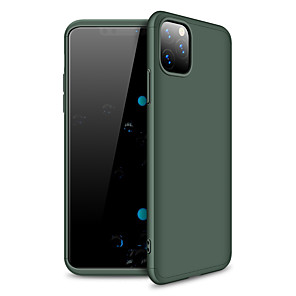 cheap iPhone Cases-Case For Apple iPhone 11 / iPhone 11 Pro / iPhone 11 Pro Max Frosted Back Cover Solid Colored Plastic