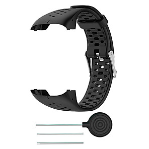 cheap Smartwatch Bands-Watch Band for POLAR M400 / POLAR M430 Polar Sport Band Silicone Wrist Strap