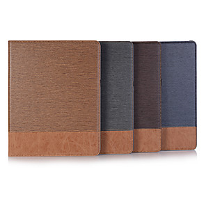 billige iPad-etui-Etui Til Apple iPad Mini 3/2/1 / iPad Mini 4 / iPad Pro 11'' Flipp Heldekkende etui Ensfarget PU Leather