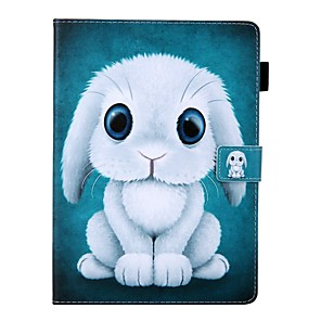 cheap iPad case-Case For Apple iPad Air / iPad (2018) / iPad New Air(2019) Card Holder / with Stand / Pattern Full Body Cases Animal PU Leather