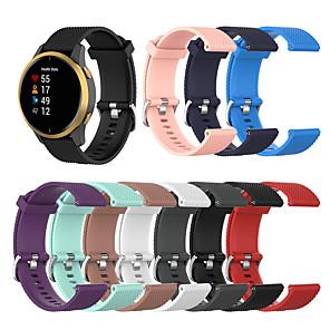 cheap Smartwatch Bands-Silicone Sport Watch Band Strap For Garmin Venu/vivoactiv3/Forerunner245 /645/vivomove/vivomove HR