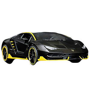 cheap Toy Cars-1:32 Toy Car Vehicles Race Car F1 car Race Car Glow New Design Simulation Zinc Alloy Rubber Mini Car Vehicles Toys for Party Favor or Kids Birthday Gift