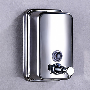 cheap Abstract Paintings-Soap Dispenser Hand Sanitizer Bottle Press Stainless steel 500 ml