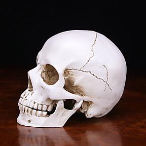 Недорогие Товары для Хэллоуина-Скелет / Череп Товары для Хэллоуина Муж. Хэллоуин Хэллоуин Фестиваль / праздник Резина Белый Муж. Жен. Карнавальные костюмы